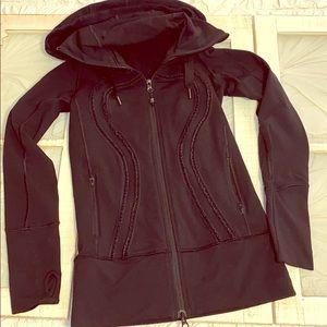 Lululemon Black Jacket hoodie YOGA